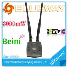 New Blueway Wireless USB Wifi Adapter 3000mW USB WiFi Adapter