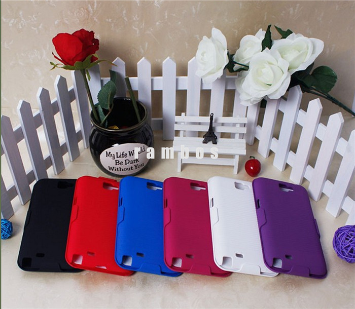 Luxury Wallet Flip Cover Hybrid Belt Clip Kickstand Phone Cases Covers Accessories for Samsung Galaxy Note 2 3 4