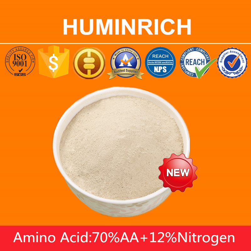 Huminrich Automation Management Soluble Fertilizers 70% Amino Acid In Powder Form