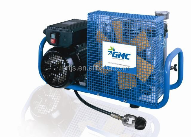 2015 Hot sale! MCH-6/ET 300Bar Electric Drive Portable Mini High Pressure Breathing Air Compressor