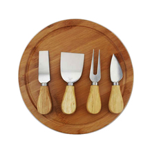 Wood Cheese Board Set Cheese Cutting Board With Knife Sets