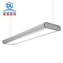 125lm/w recessed led pendant trunking system linear light for supermarkets