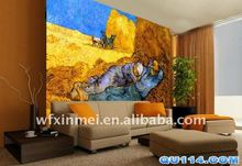 thai wall art on China waterproof art wallpaper