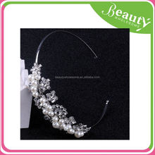 plain rhinestone headbands AD100 western hair accessories