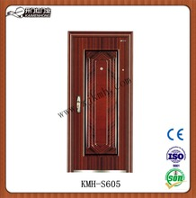 single cheap door Safety machines making steel entry door design low prices