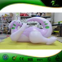 Top Selling Attractive Animals Toys Giant Inflatable Purple Dragon