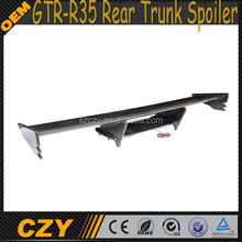 New Arrival Auto FRP GTR-R35 Rear Trunk Spoiler for Nissa n Nismo Style 09-15