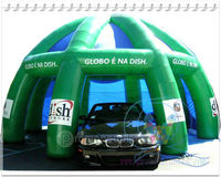 Green Promotion design inflatable advertisment tent (Qiling 2013)
