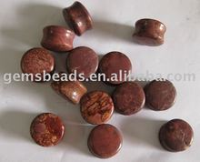 wholesale stabilized turquoise ear plug jewelry