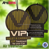 Various styles absorbent new design fragrance paper air freshener