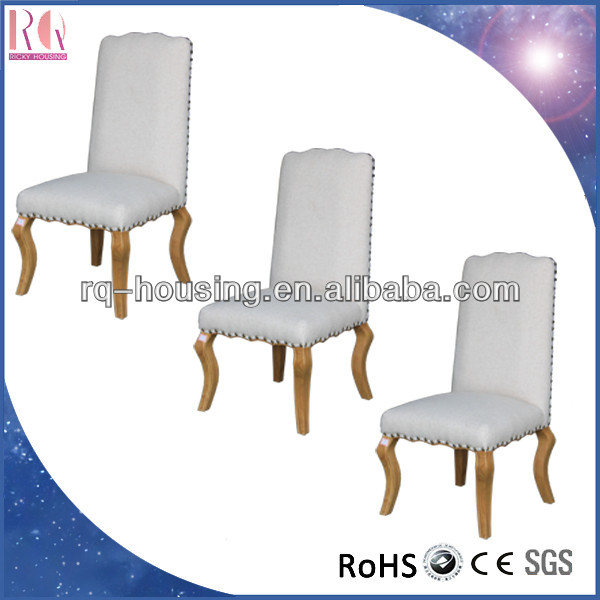 Dining room chair hotel luxury dining chair/Tufted dining room chair /Cream colored dining room table and chairs