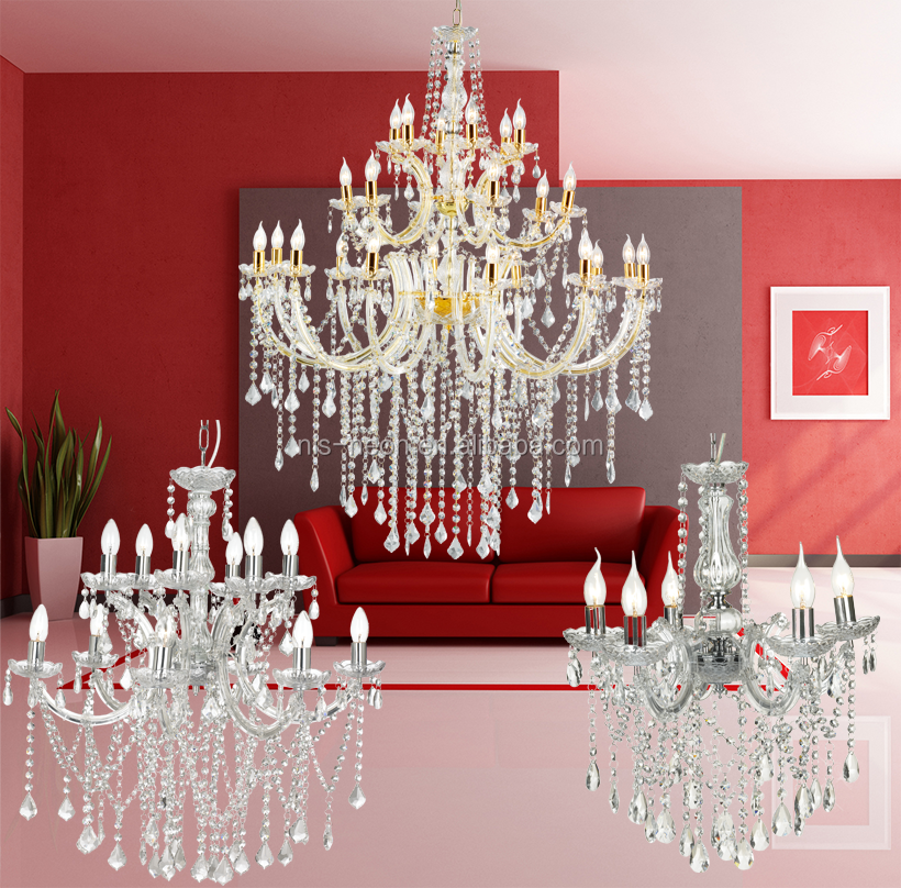 golden chandelier light modern/ luxury crystal chandelier frame lighting for weddings decoration