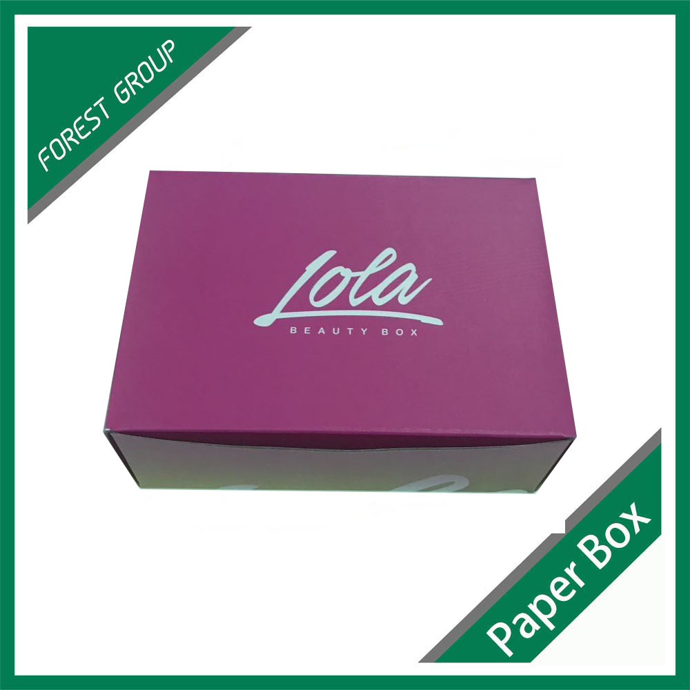 China Supplier Cheap Custom Full Color Printed E Flute Cardboard Mailing Corrugated Box