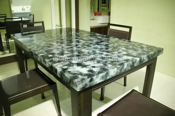 Artificial Onyx Glass Stone Countertop Jade Glass Countertop