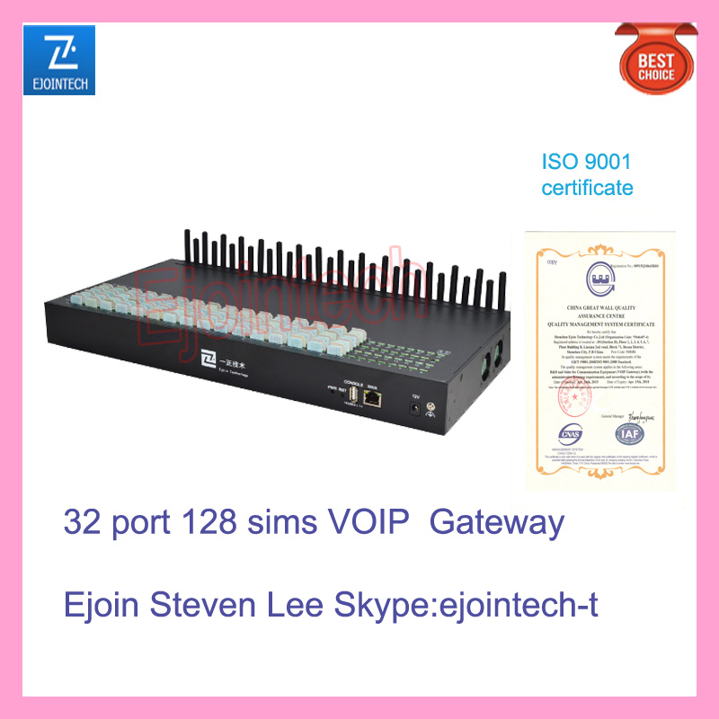 32 port VOIP gateway, VOICE adapter smart gateway made in china