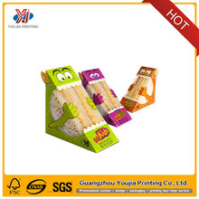 Special style triangle Sandwich/Cake/Fries food packaging box