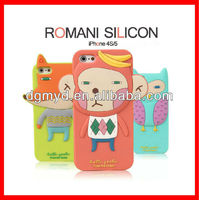 Free Shipping Silicone Western Cell Phone Cases for iphone