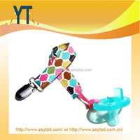 A Riot Of Colors Roco Beat Baby pacifier clip holder/Dummy Clip/Pacifier Clip