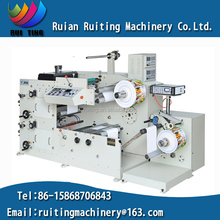 RTRY-420B 2 color polyethylene flexo printing machine with UV dryer