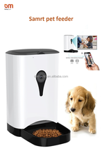 Hot selling smart pet feeder/automatic pet feeder with camera Wi-Fi Remote Control for dogs and cats