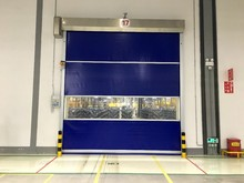 china wholesale suppliers 0.8 to1.5m/s high speed roller shutter door