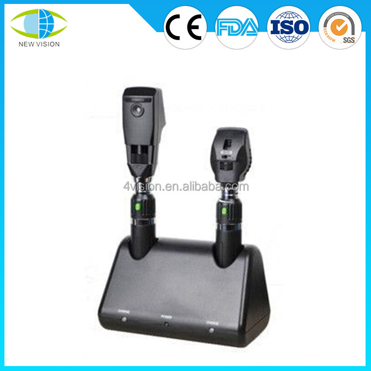 Ophthalmoscope and Retinoscope Rechargeable Diagnostic Set