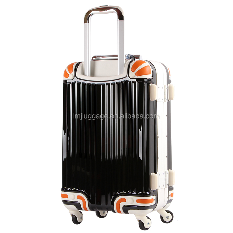 Luggage trolley handle /draw bar suitcase luggage / pull rod for abs plastic luggage suitcase