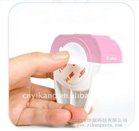 touch and brush toothpaste dispenser