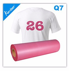 Kenteer wholesale 24colors pu adhesive vinyl for clothing