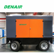 industrial diesel portable/movable middle pressure air compressor