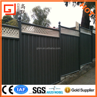 Factory supply high quality Colorbond Boundary Fencing Panels