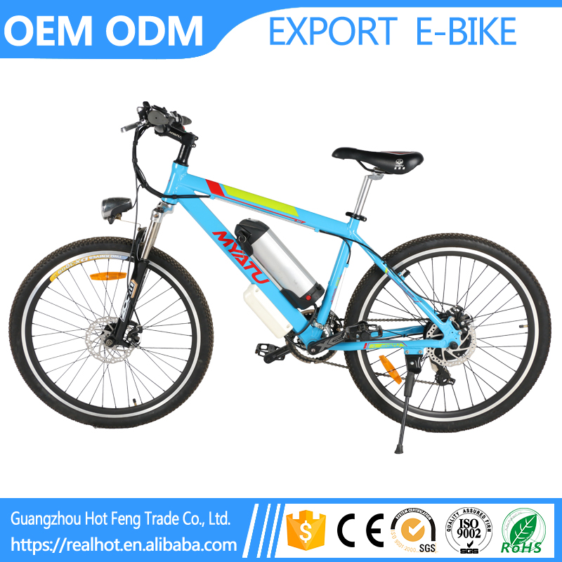 Factory OEM High Quality Li Battery LCD Meter Controlled Mountain kawasaki electric bike