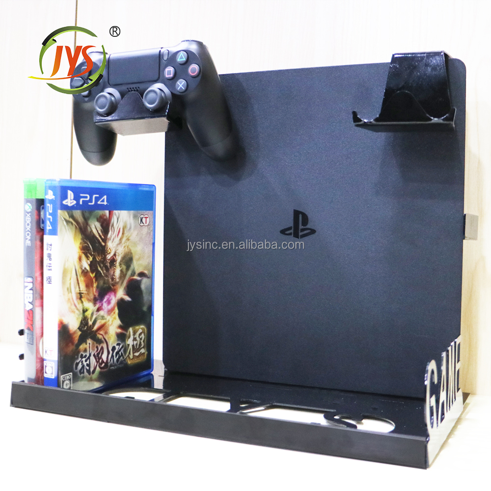 PS4 SLIM Wall Mount Bracket Compatible with PS4 PRO and PS4