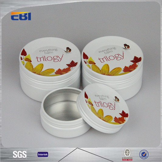 Aluminum empty gift boxes with high quality
