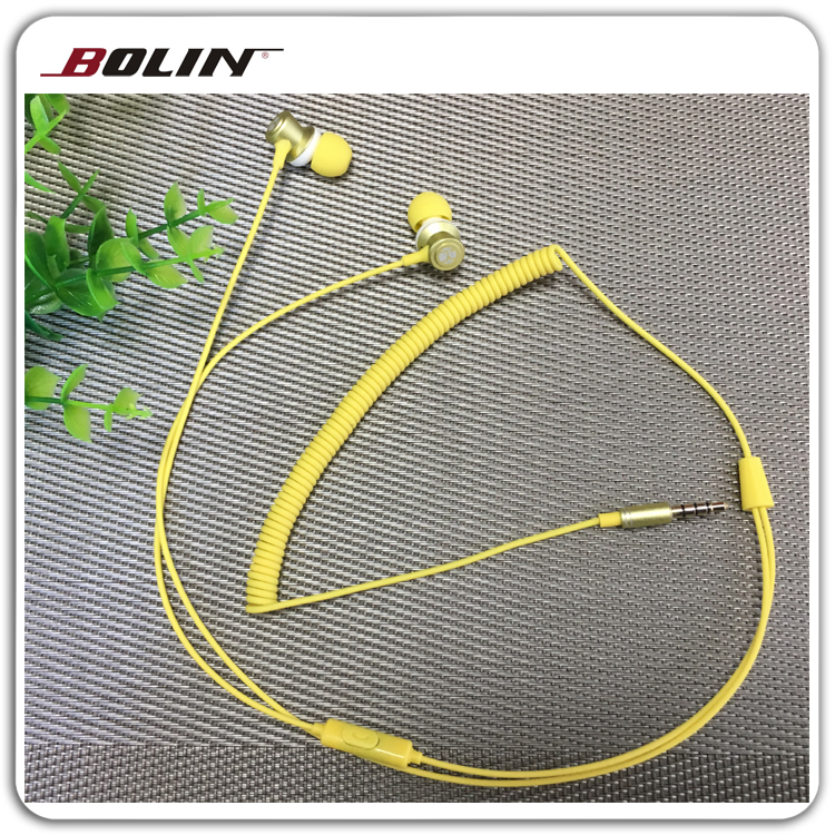 Best Selling Telephone Cord 3.5Mm Jack Earphone With Ce Certificates