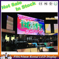 images led display Stock rental IP 65 p6.94 led video screen china video led dot matrix