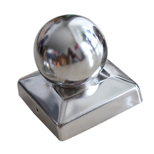 Iron Fence Post Cap,Ball Post Cap for Aluminum,Stainless Steel Pyramid Post Cap
