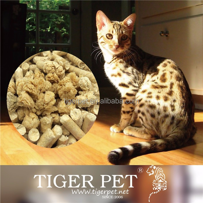 Pet cleaning grooming products yellow pine wood pellet kitty sand