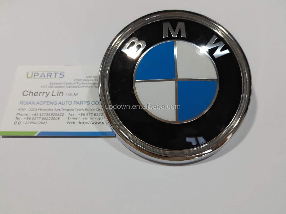 For BMW E83 X3 Rear Hatch Emblem w/ Mounting Grommets Brand New ( Genuine) 51143401005