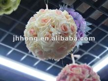 cute wedding rose flower balls