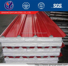 Qinyuan 24 gauge galvanized roofing sheet, corrugated steel sheet 3mm thickness