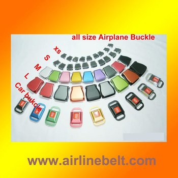 Top classic airplane buckles for belts blank