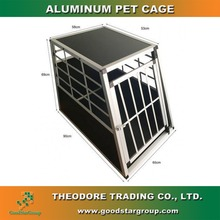 Dog Transport Box with One Single Door Large Size Right Trapezoidal Design Suitable for Car Trunk