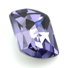 High Quality Hot Fix pointed back stones,Purple Color Jewelry Stones ,CHP116