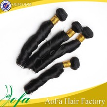 Factory price good quality spring curl human hair curly weave