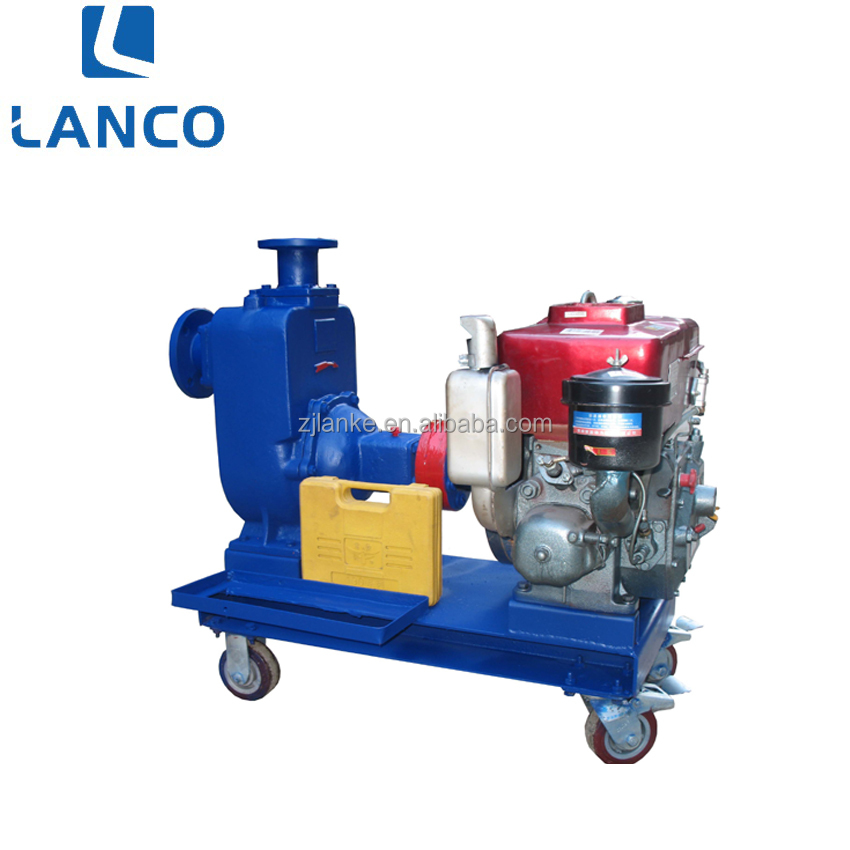 Centrifugal Pump With Single Cylinder Diesel Engine