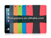 Multi color coach case for ipad air by china manufacturer