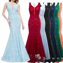 ZH0071G Chiffon Long O-neck Cross Back Formal Wedding Party Gowns Evening Dress
