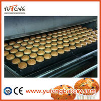 tunnel oven food processing machinery line industrial oven for cakes