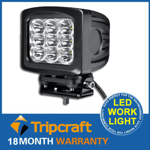 "Hot product 5.2""inch 90w led work light high power auto work lamp for truck tool waterproof"